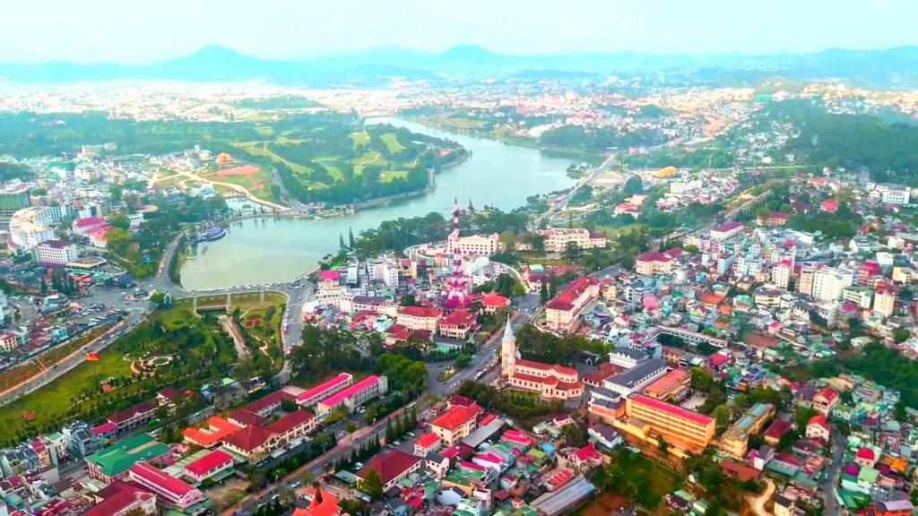 Город Вьетнама Далат