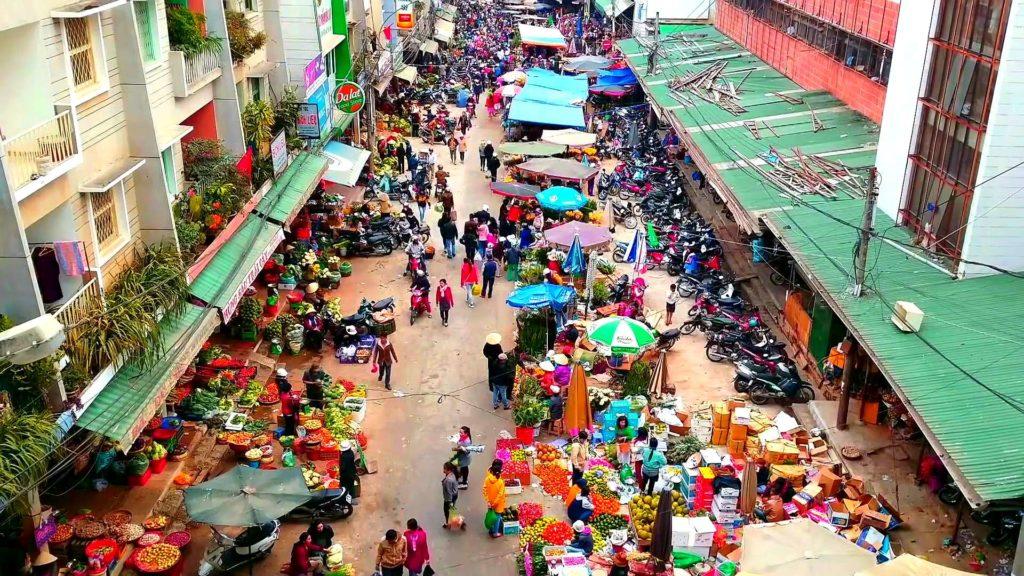 Рынок в Далате