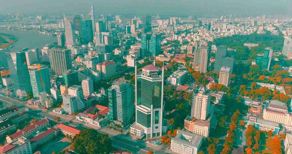 Крупнейший город Вьетнама Хошимин