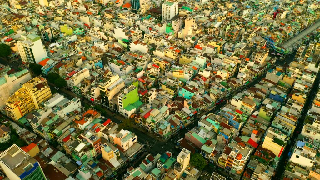 Город Вьетнама Хошимин